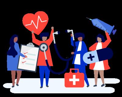 Keafon health workers